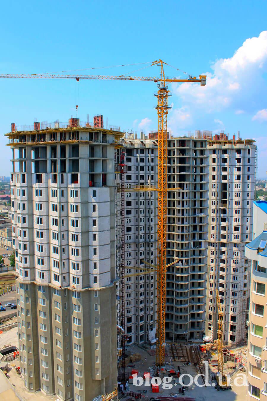Будівництво в Одесі