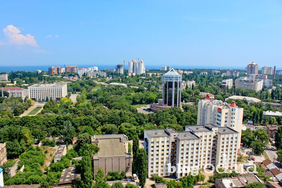Центральна частина Одеси