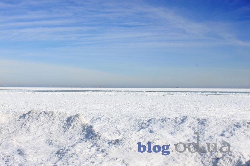 Коли замерзає море в Одесі