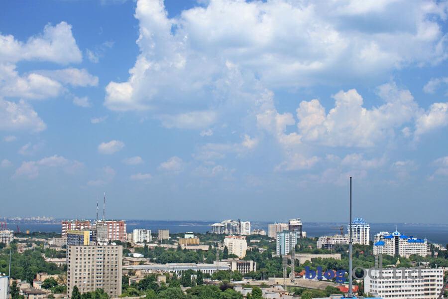 Спекотна погода В Одесі