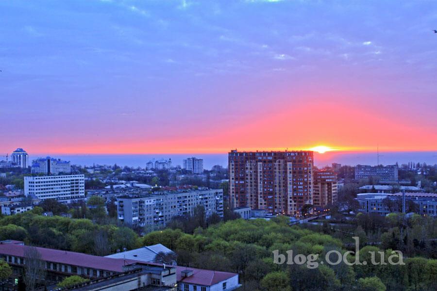 Світанок в Одесі
