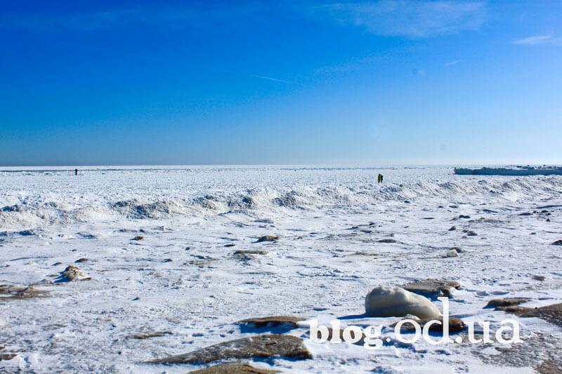 Замерзле море в Одесі