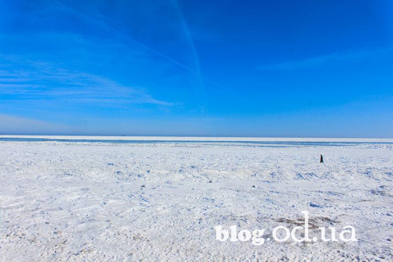 Зимове море в Одесі
