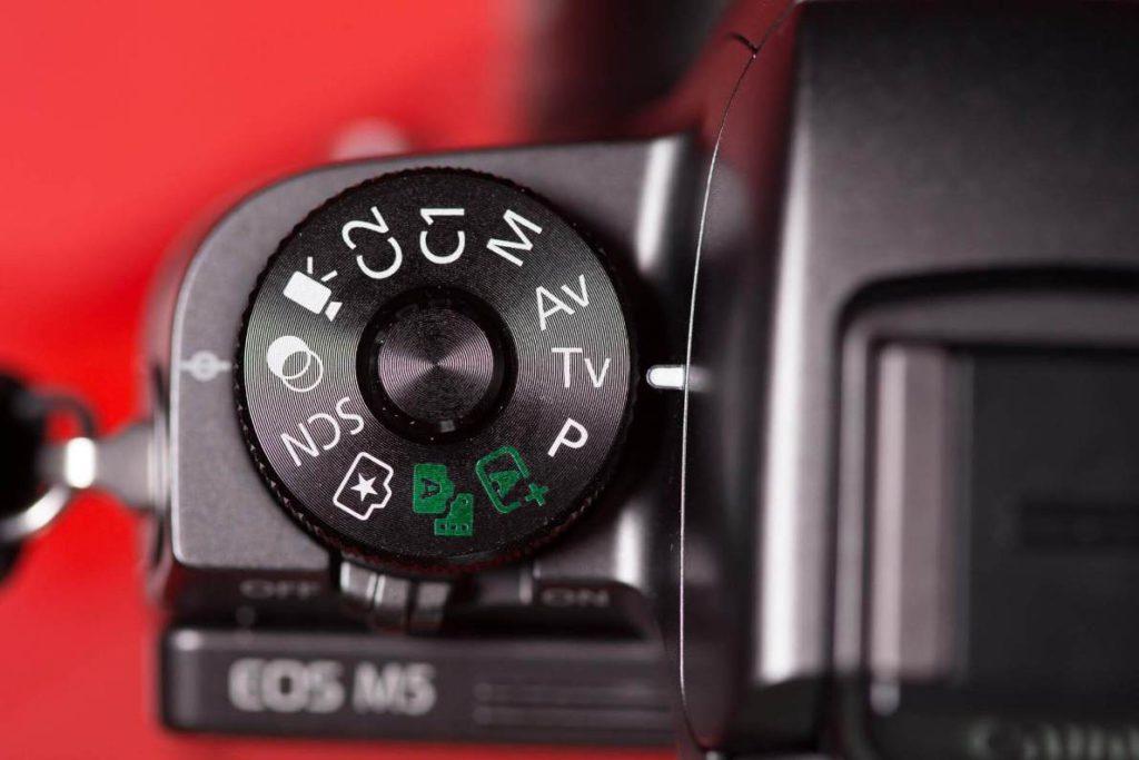 Режимы съемки профессиональной зеркальной фотокамеры