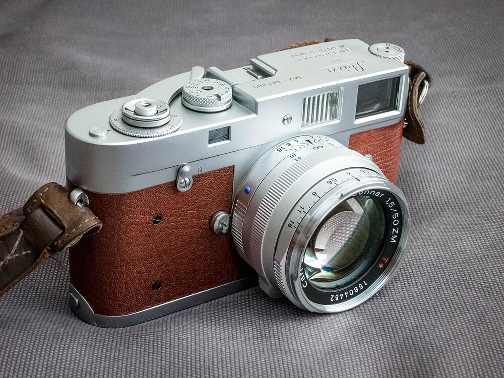 Історія дзеркального фотоапарту